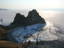 Shamanka rock, Olkhon Island, Lake Baikal