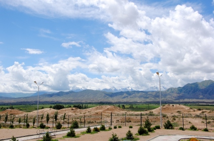 Countryside surrounding Barbulak, 2013
