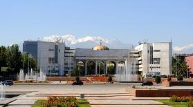 Erkindik Square, Bishkek, 2013