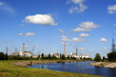 "Reactor 4 (""the"" reactor), is the farthest to the left."