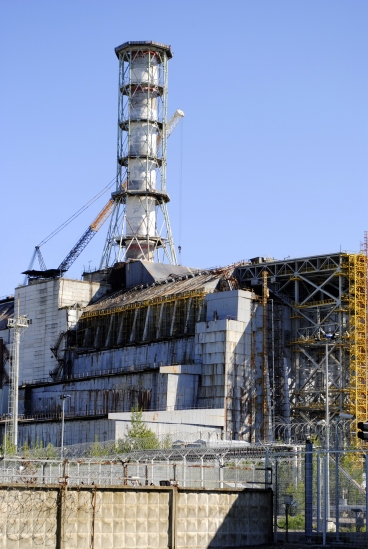 Reactor 4, 2011 (prior to the new sarcophagus)