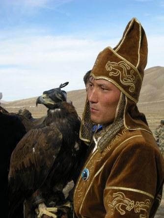 Kazakh Eagle Hunter, Bokonbaevo, 2008