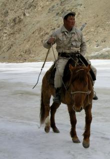 "On the ""road"" to Tash Rabat, 2008"