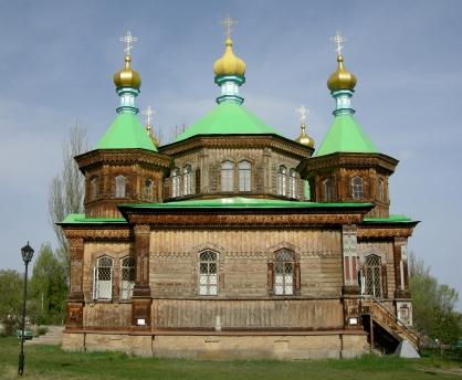 Church in Karakol, 2008