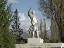 Lenin in Kochkor, 2008