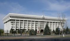Kyrgyz White House, Bishkek, 2008