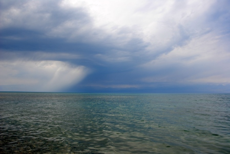 Southern shore of Issyk Kul, 2013
