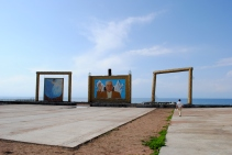 Remains of the Alam Ordo Resort, Issyk Kul, 2013