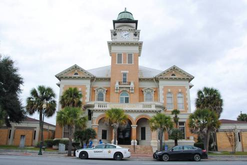 Suwannee County Courthouse in Live Oak