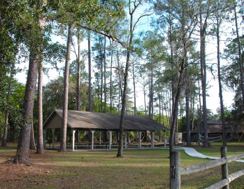 Meeting Pavilion, Stephen C. Foster State Park, GA